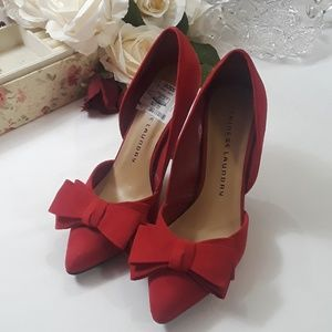 Chinese Laundry Red Heels/Pumps size 6.5